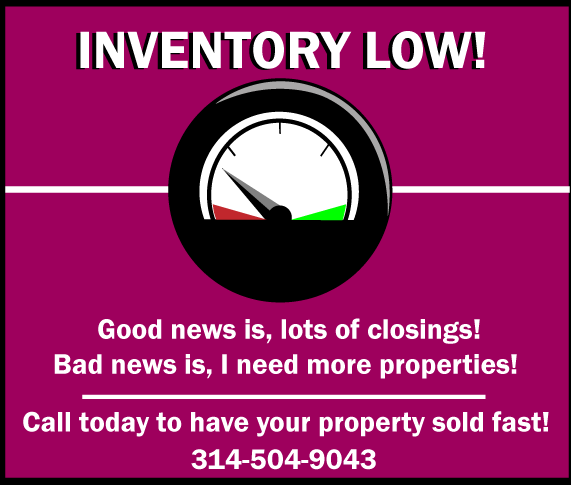 Inventory Low